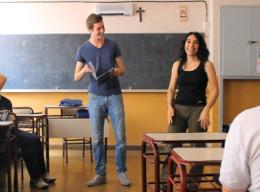 Unterrichten in Argentinien