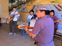 Musik – Projekt in Bolivien