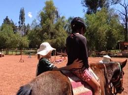 Reittherapie in Bolivien