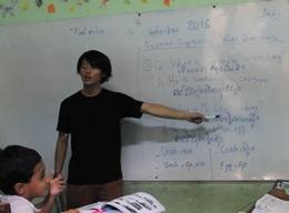 カンボジアで英語教育のボランティア