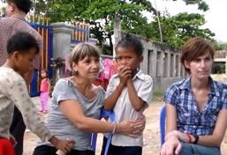 Mission humanitaire - aide à l'enfance au Cambodge
