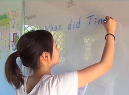 カンボジアで日本語教育