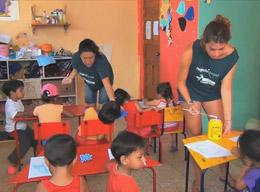 Working on a Care Project in Ecuador