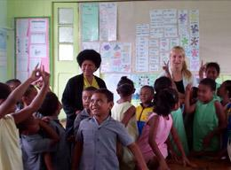 A Care Volunteer's Experience in Fiji