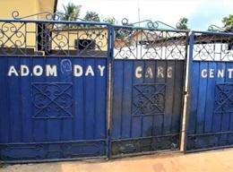 Adom Day Care Centre in Ghana