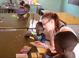 Volunteer with Children in Ghana