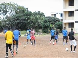 Sport (Fußball - Projekt) in Ghana