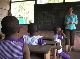 Teaching on a Volunteer Project in Ghana