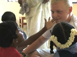 Volunteering with Children on a Care Project in India
