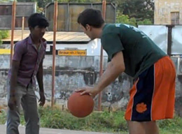 Coaching Basketball in India
