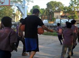 Volunteering on a Sports Project in India