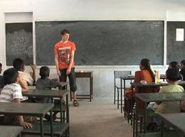 The Teaching Project Experience in India