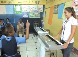 Muziekproject in Jamaica