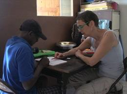Undervisning på Jamaica