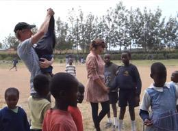 Volunteers on a Care Project in Kenya