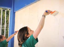 Painting and decorating outreach
