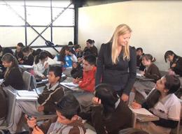 Undervisningsprosjekt i Mexico