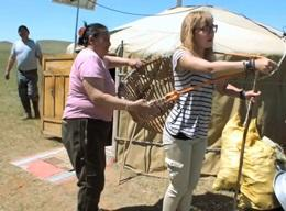 Nomaden – Projekt in der Mongolei