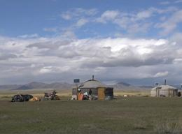 Nomaden project in Mongolië