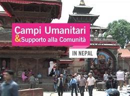 Campi umanitari & supporto alla comunità in Nepal