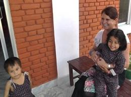 Care in an orphanage in Nepal
