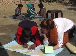 Humanitært arbejde - Taleterapi