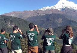 Ecovolontariat et environnement au Népal