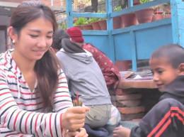 ネパールでケア