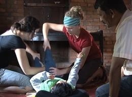 Physiotherapie in Nepal