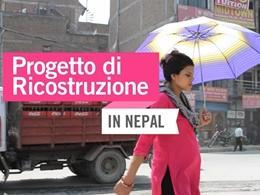 Progetto di ricostruzione in Nepal