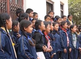 ネパールで英語教育のボランティア