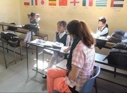 Unterrichten in Nepal