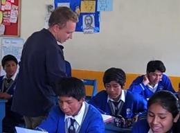 Unterrichten in Peru
