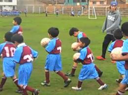 School Sports in Peru