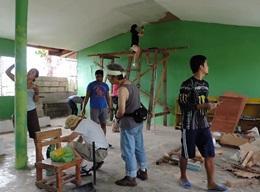 Gjenoppbygging på Filippinene