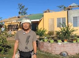 フィリピンで台風復興支援