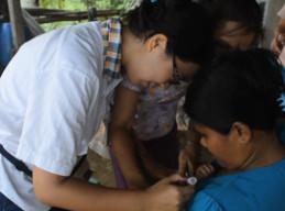 フィリピンで公衆衛生プロジェクト