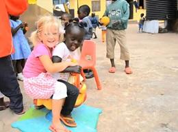 Volunteer Work with Children in Africa