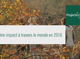 Impact 2016 en écovolontariat