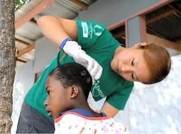 アフリカで医療プロジェクト