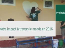 Impact 2016 auprès de communautés