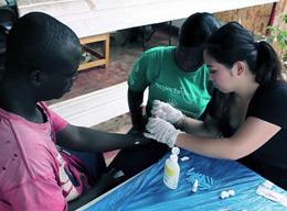 Gezondheidszorg projecten wereldwijd
