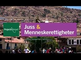 Juss & Menneskerettigheter