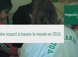 Impact 2016 en Santé & Médecine