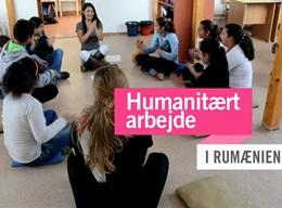 Rumænien: Humanitært arbejde