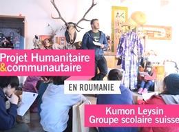 Mission humanitaire et communautaire en groupe en Roumanie
