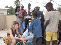 A Volunteer on the Care Project in Senegal