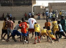 Volunteers on a Sports Project in Senegal