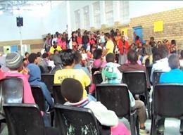 Menschenrechts - Projekt in Südafrika
