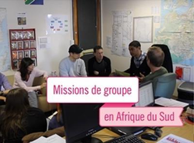 Mission humanitaire et communautaire en groupe en Afrique du Sud